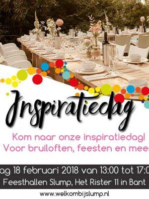 Bruidshuis Dokter-de Graaf Inspiratie dag 18 februari 2018 Slump Catering in Bant