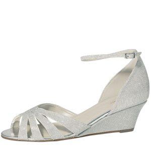 Elsa Coloured Shoes Michelle Silver