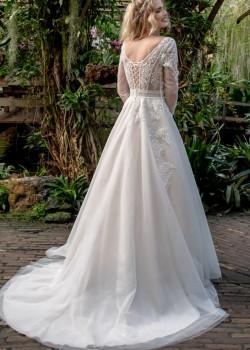 Bruidsjurk Ginny achterkant