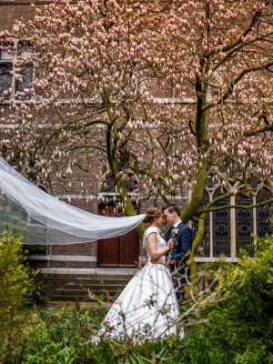 trouwdag bruidspaar